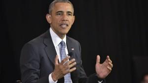 Obama stellt sich in E-Mail-Affäre hinter Clinton