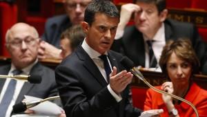 Valls warnt vor Bürgerkrieg bei Sieg Le Pens