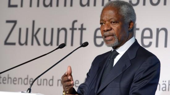 """Annan kritisiert """"Landraub"""" durch Großkonzerne"""