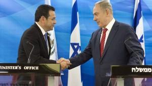 Guatemala will seine Botschaft nach Jerusalem verlegen