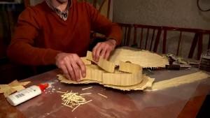 Musikinstrumente aus Streichhölzern