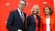 Das SPD-Trio auf Abruf