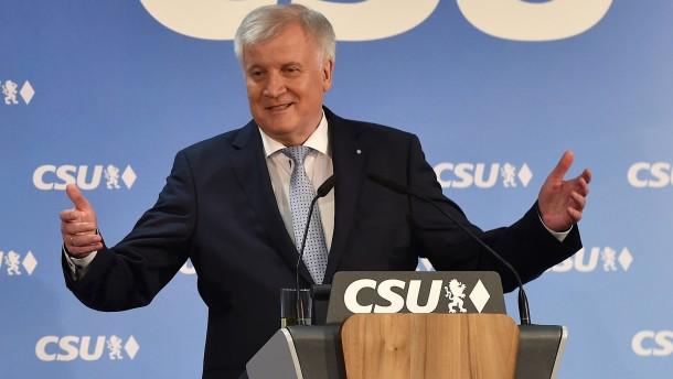 Die CSU will den Posten des Innenministers