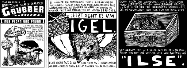 Comic / Kat Menschik / Der goldene Grubber / 018