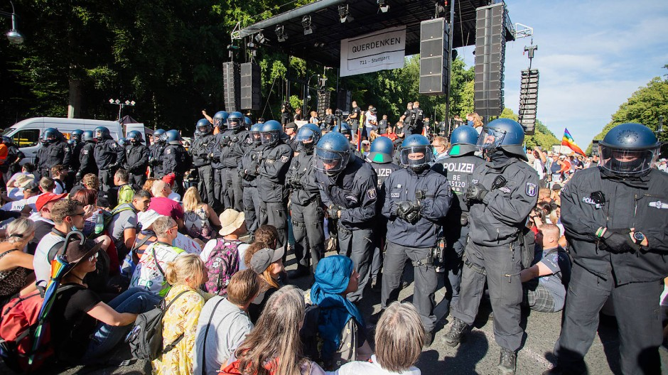 Berlin Demo Heute