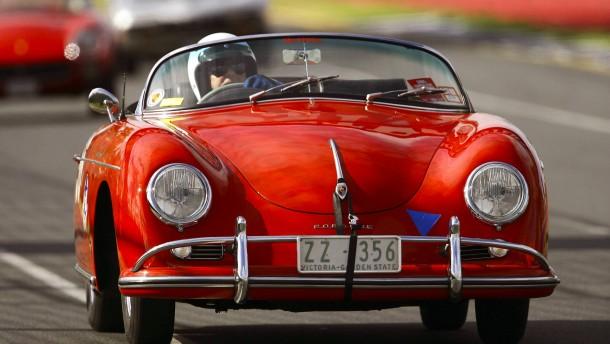Abgefahrene Porsche