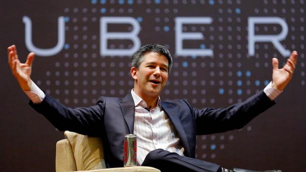Umstrittener Uber-Mitgründer Kalanick verlässt Aufsichtsrat
