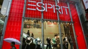 Esprit streicht in Deutschland hunderte Stellen