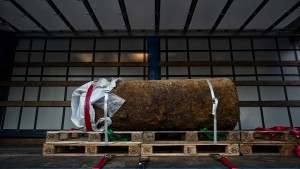 Fliegerbombe: 2000 Menschen müssen Wohnungen räumen