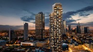 """Auch die Wohnungen in diesem geplanten """"Grand Tower"""" in Frankfurt werden die Preise kaum sinken lassen."""