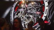 Gut besucht: Die Uhrenmesse SIHH in Genf.