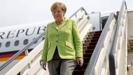 Abu Dhabi, Dschidda, Brüssel – und jetzt Sotschi: Die Bundeskanzlerin legt eine respektable Reiseaktivität an den Tag