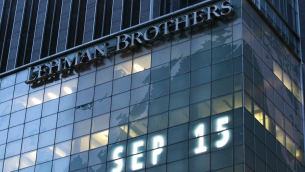 Lehman Brothers: Die Investmentbank ging am 15. September 2008 insolvent