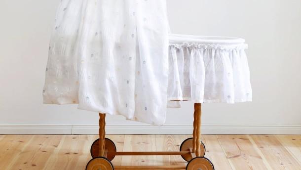 gesundes schlafen für babys, Schlafzimmer
