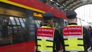 Bahn rüstet auf gegen Gewalttäter
