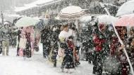 Mehrere Tote bei eisigem Winterwetter