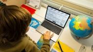 Viele Lehrer stellen ihren Schülern derzeit Materialpakete digital zum Download bereit, beispielsweise auf der Schulhomepage.
