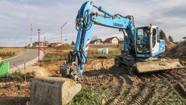 Mehr Bauland für Einheimische