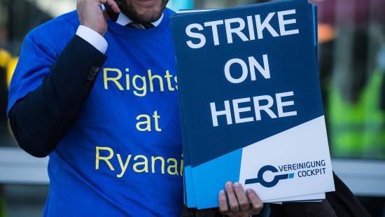 Ryanair-Streiks gehen weiter