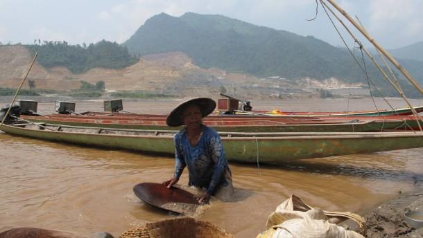 Wenn der Mekong stillsteht