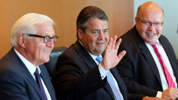 """SPD-Basis gibt """"Probesitzer"""" Gabriel schlechte Noten"""