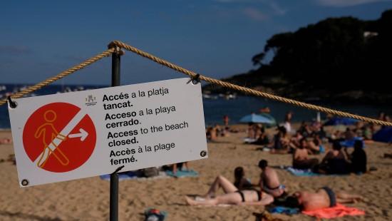 Bundesregierung rät von Reisen an Costa Brava ab
