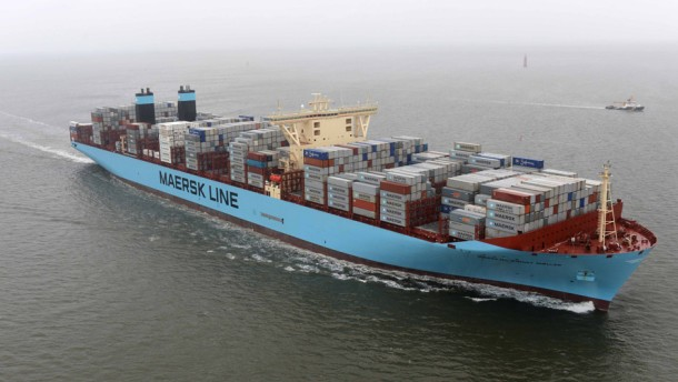 Bild / Containerschiff