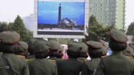 Japaner nach Nordkoreas Raketenstart besorgt