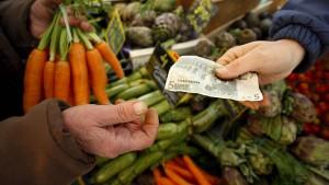 Stärkste Inflation in der Eurozone seit Ende 2012