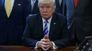 Trump ist mit der Geduld am Ende