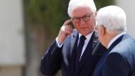 Steinmeier unterstützt Zwei-Staaten-Lösung