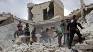 Abermals viele Tote in Aleppo