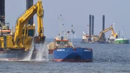 Ostsee-Pipeline darf weiter gebaut werden