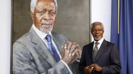 Früherer UN-Generalsekretär Kofi Annan gestorben