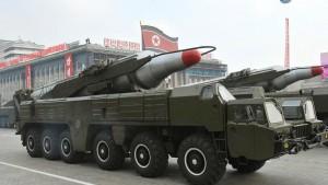 Nordkorea zieht Mittelstreckenraketen zurück