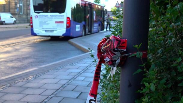 Busfahrer bei Messerattacke in Oberfranken getötet