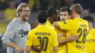 BVB-Trainer Klopp zufrieden
