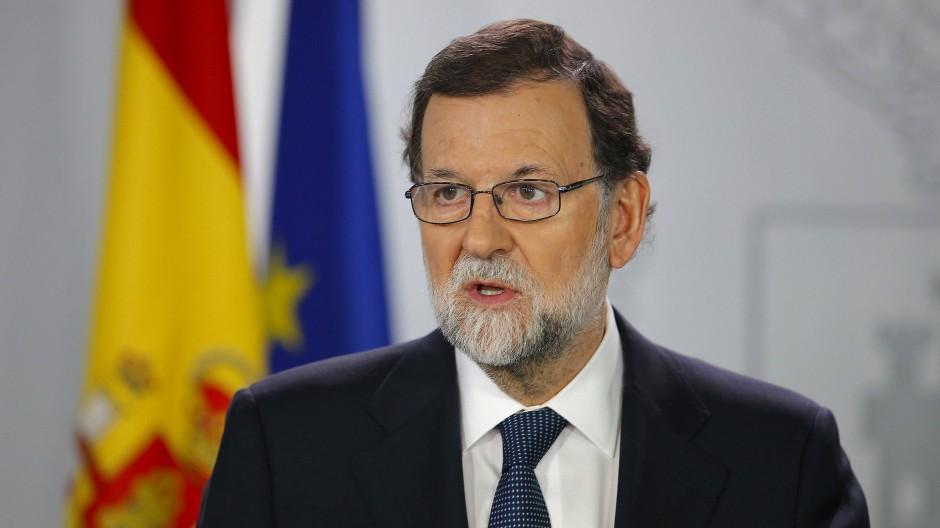 Der spanische Ministerpräsident Mariano Rajoy kann im Katalonien-Konflikt auf die Unterstützung aus der Opposition hoffen.