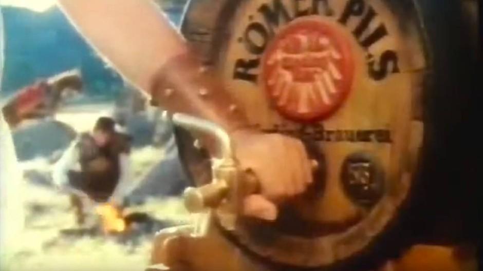 Vom Zenturio gezapft: Römer-Pils-Werbung anno 1983
