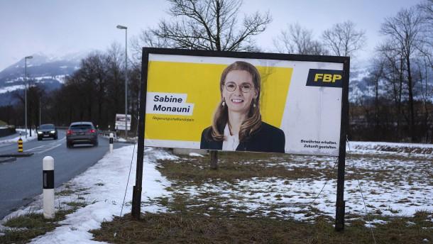 Patt nach Wahl in Liechtenstein