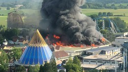 Feuer im Europapark