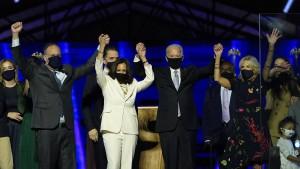 Biden gewinnt Präsidentenwahl mit 306 Wahlleuten