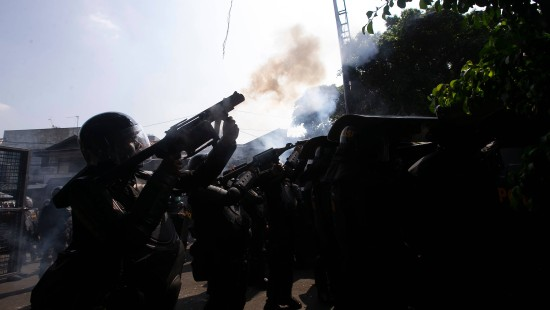 Zusammenstöße bei Protesten