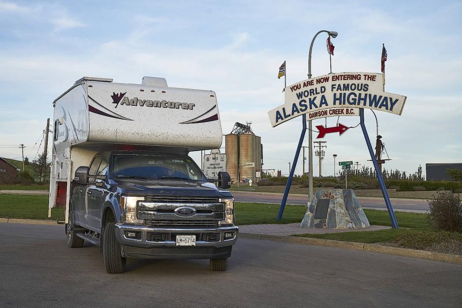 Ist jetzt 75: Der Alaska Highway