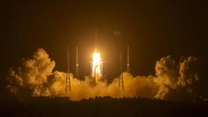 China startet Mission zur Mondlandung
