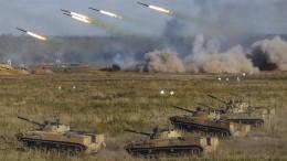 """Moskau und Minsk proben einen """"richtigen"""" Krieg"""