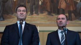 Koalition in Bayern steht