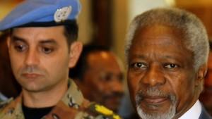 """Annan und Assad einigen sich auf """"Ansatz"""""""