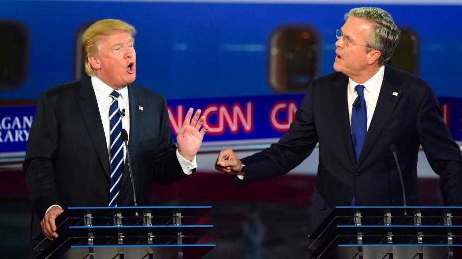 Trump gerät in TV-Debatte unter Druck