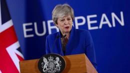 May will Brexit über Umweg ins Parlament zurückbringen